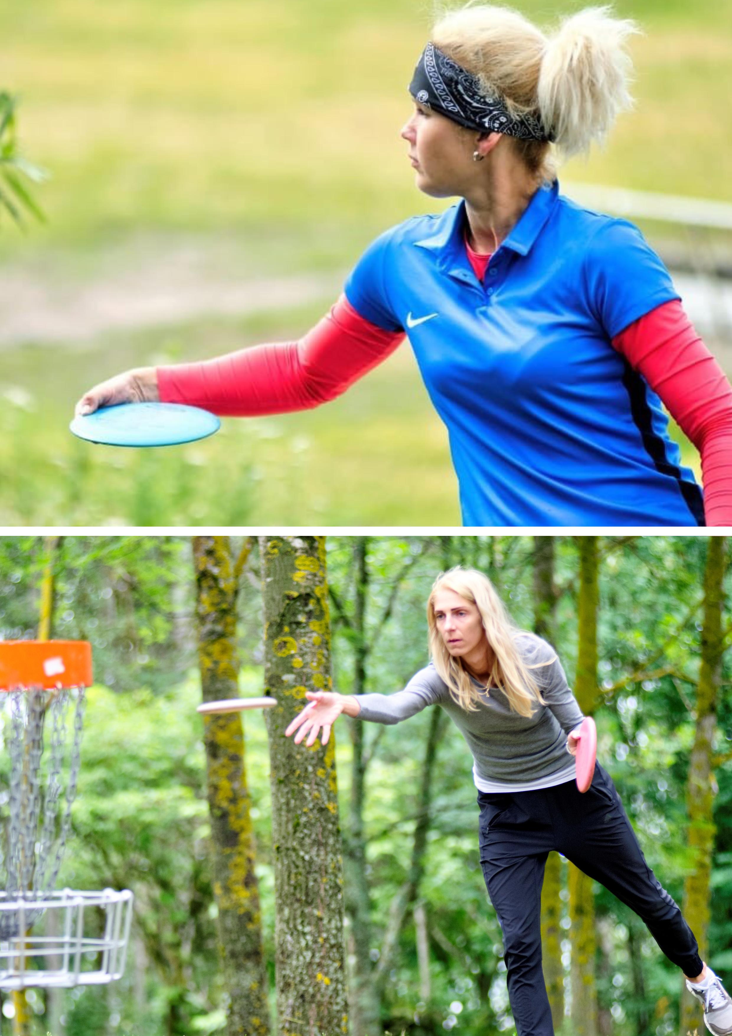 Marge Lätt  ja Anette Ojastu tõid Eestile 2. rahvusvahelistelt discgolfi võistlustelt medaleid