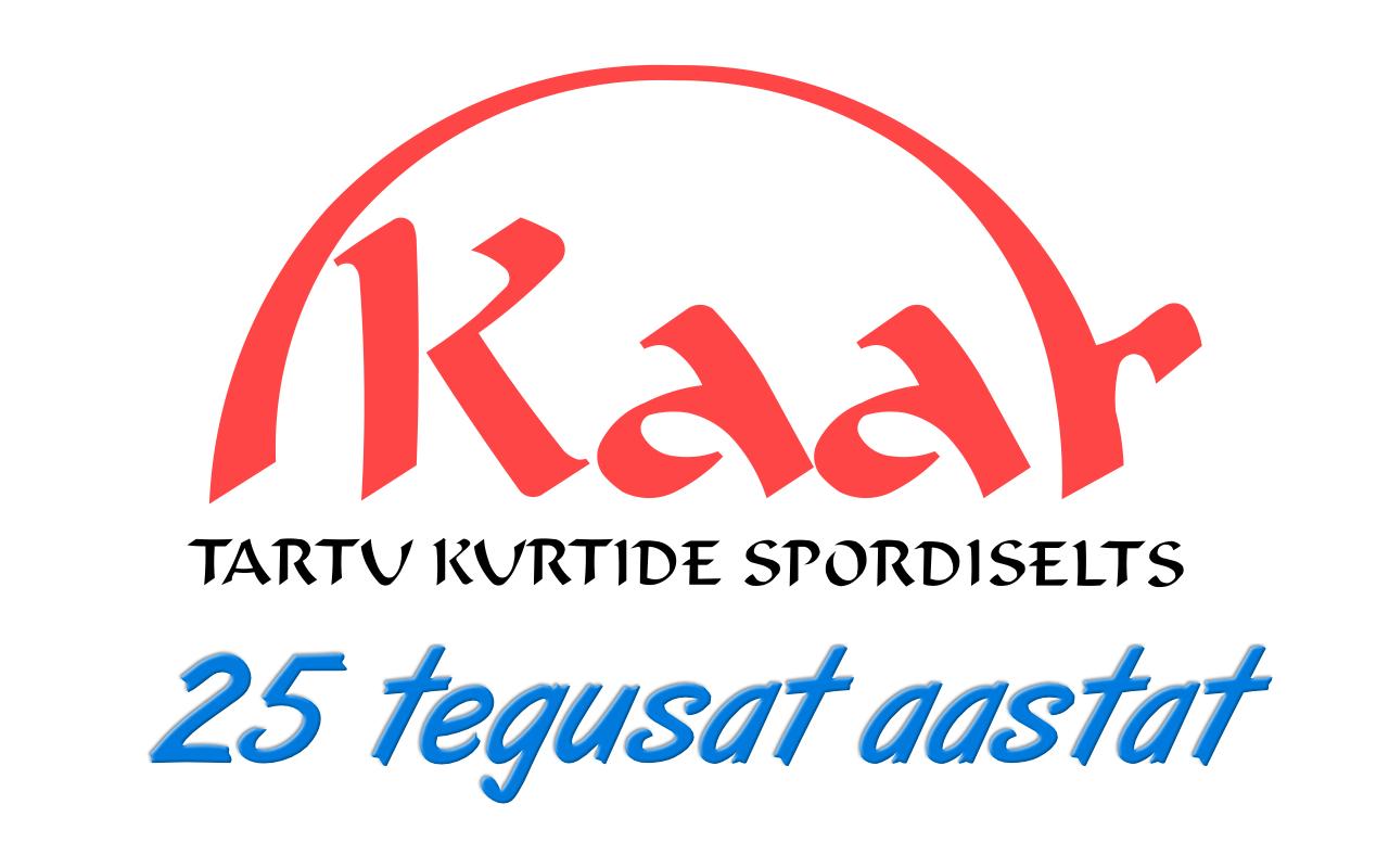 """Tartu Kurtide Spordiselts """"Kaar"""" tähistab  25. aastapäeva"""