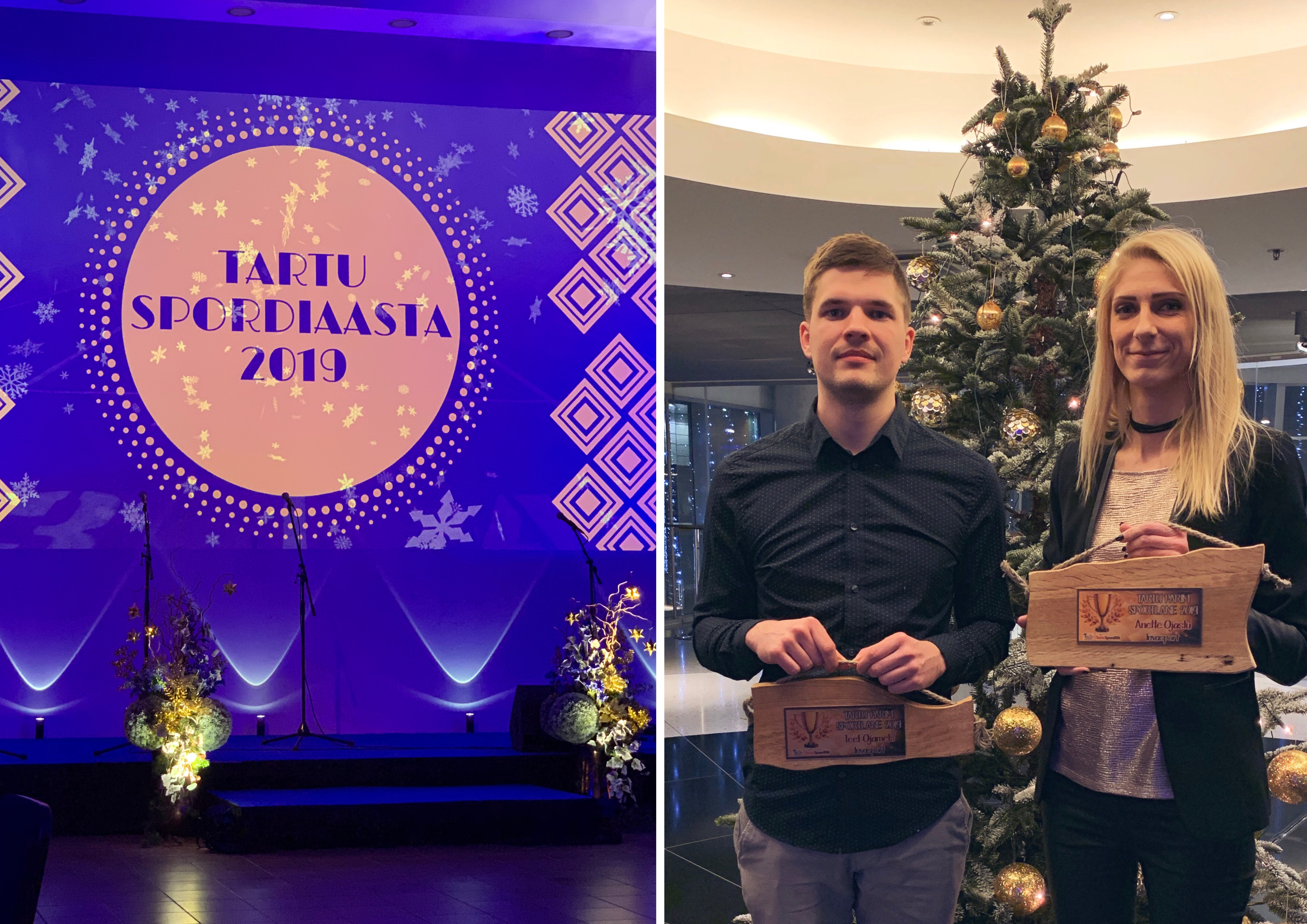 Tartu spordiaasta 2019 pidulik lõpetamine Dorpat Konveretsikeskuses