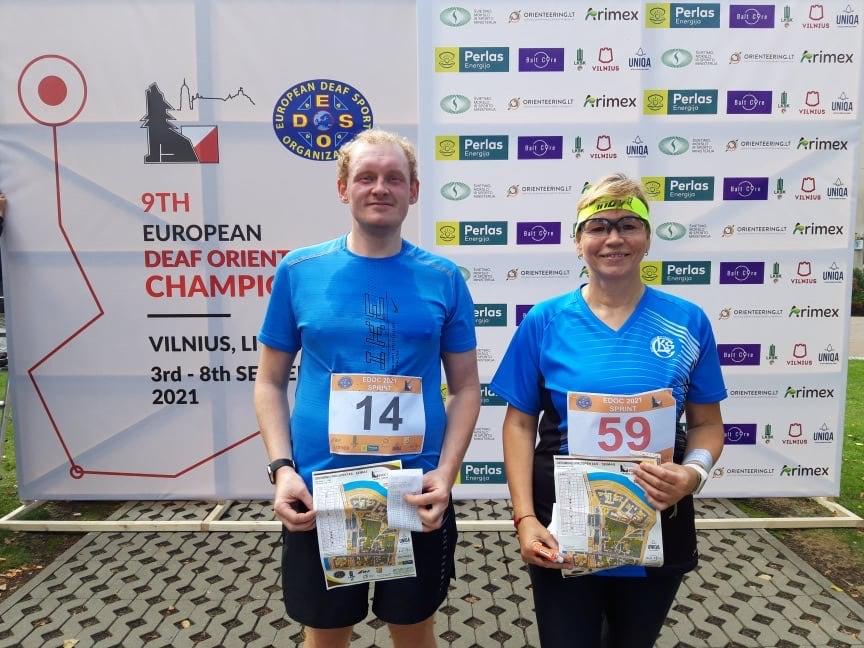 9. Euroopa Kurtide Meistrivõistlused orienteerumine 3. -  8.09.2021 Vilniuses