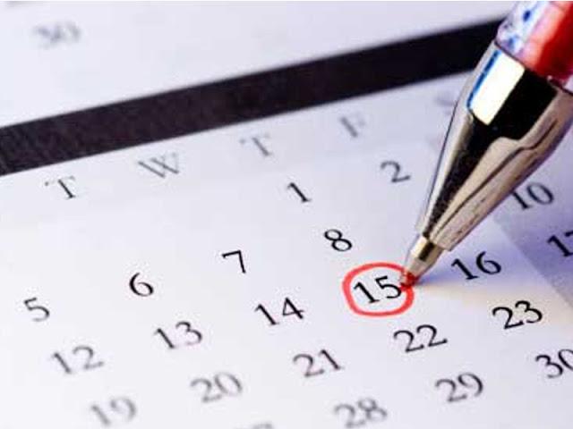 2021. aasta kalenderplaan on kinnitatud
